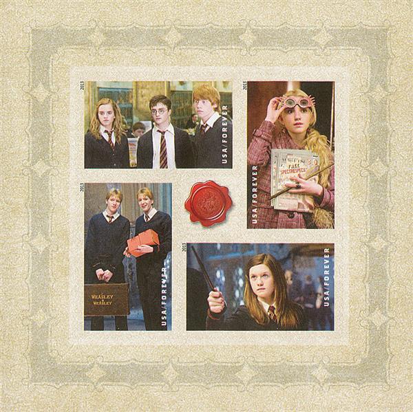 2013 46c Harry Potter se-ten - Pane 4