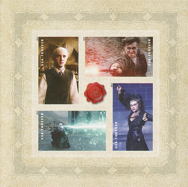 2013 46c Harry Potter se-ten - Pane 5