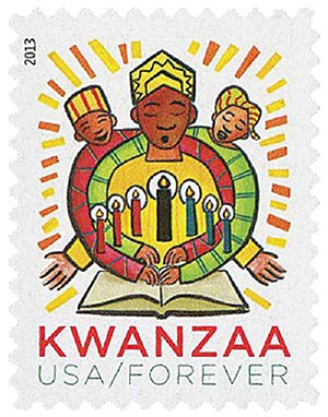 2013 First-Class Forever Stamp - Kwanzaa