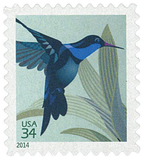 2014 34c Hummingbird