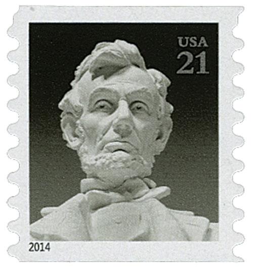 2014 21c Lincoln Memorial, coil