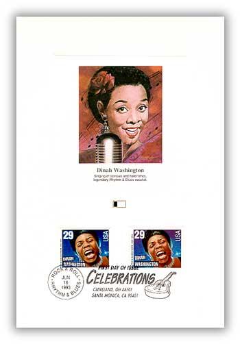 1993 Dinah Washington Proofcard
