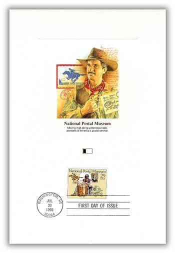 1993 Postal Museum Pony Express PFCD