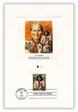 1994 Laramie Cancel, Geronimo PFCD