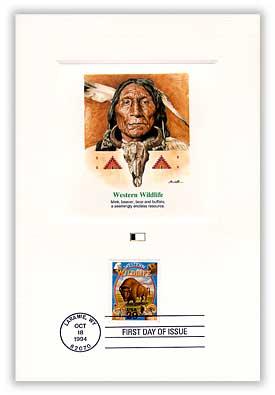 1994 Laramie Cancel, Western Wildlife PFCD