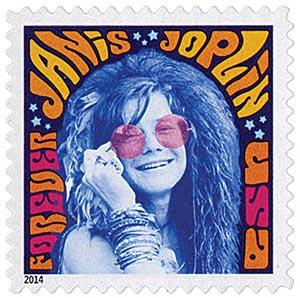 2014 First-Class Forever Stamp - Music Icons: Janis Joplin