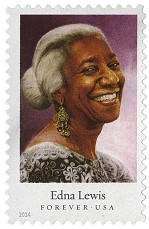2014 First-Class Forever Stamp - Celebrity Chefs: Edna Lewis