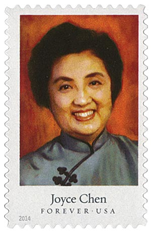 2014 First-Class Forever Stamp - Celebrity Chefs: Joyce Chen