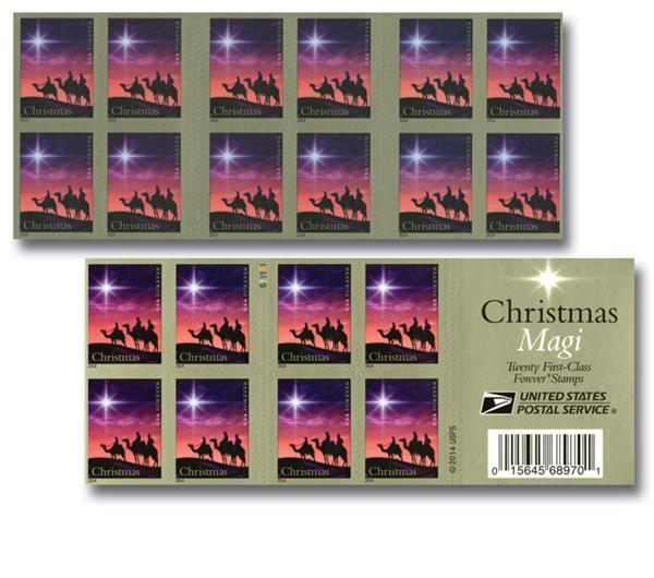 2014 49c Christmas Magi