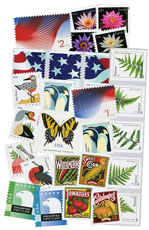2015 Regular Issue Stamp Collection, Set of 35