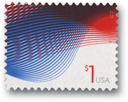2015 $1 Patriotic Wave