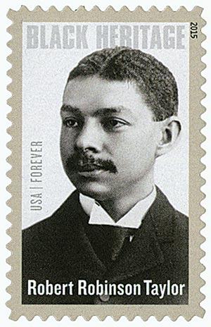 2015 First-Class Forever Stamp - Black Heritage: Robert Robinson Taylor