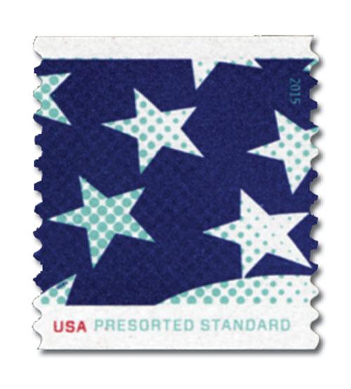 2015 10c Stars and Stripes: Stars