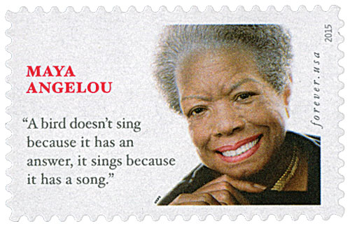 2015 First-Class Forever Stamp - Maya Angelou
