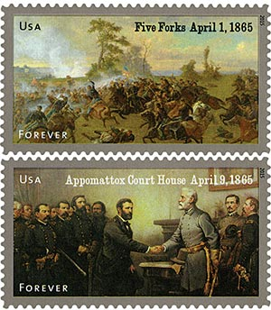 2015 First-Class Forever Stamp - The Civil War Sesquicentennial, 1865