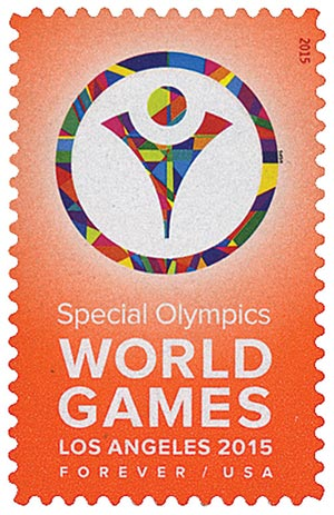 2015 First-Class Forever Stamp - Special Olympics World Games