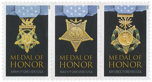 2015 First-Class Forever Stamp - Medal of Honor: Vietnam War