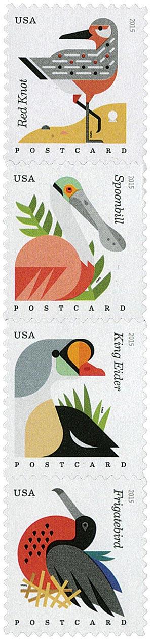 2015 35c Coastal Birds