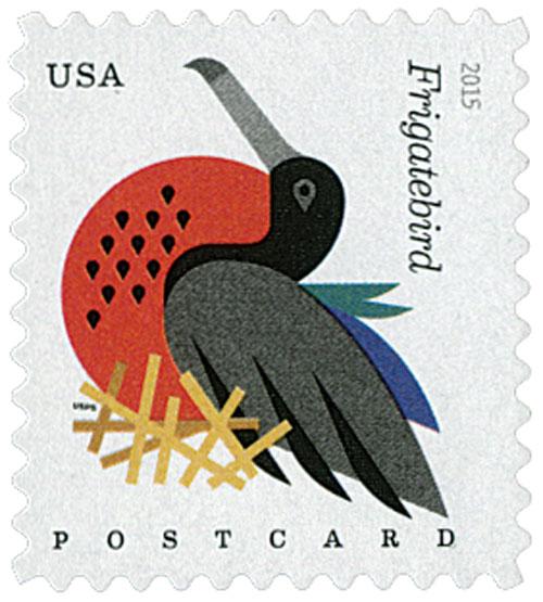 2015 35c Coastal Birds: Frigatebird