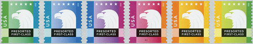 2015 25c Spectrum Eagles set of 6