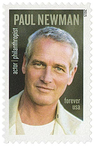 2015 First-Class Forever Stamp - Paul Newman