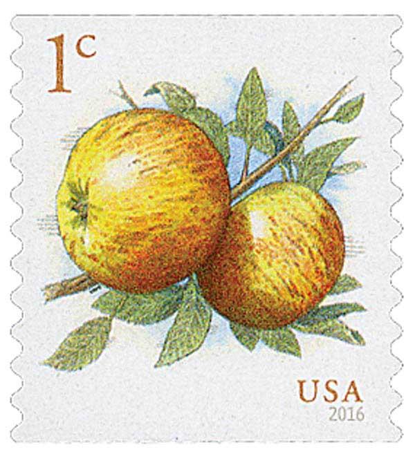 2016 1c Apples, coil