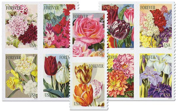 2016 First-Class Forever Stamp - Botanical Art