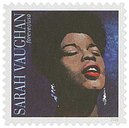 2016 First-Class Forever Stamp - Music Icons: Sarah Vaughan