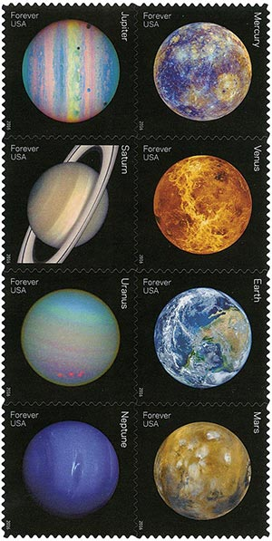 2016 First-Class Forever Stamp - Views of Our Planets