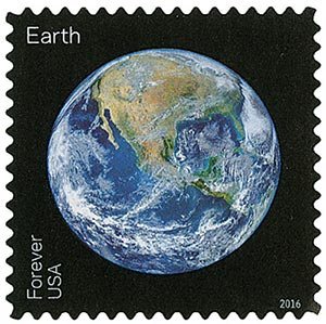2016 First-Class Forever Stamp - Views of Our Planets: Earth