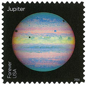 2016 First-Class Forever Stamp - Views of Our Planets: Jupiter