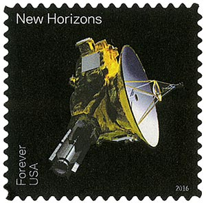 2016 First-Class Forever Stamp - Pluto Explored!: New Horizons