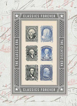 2016 First-Class Forever Stamp - Classics Forever