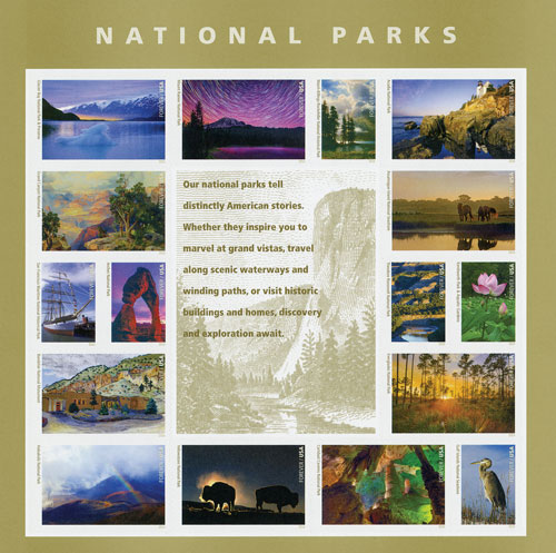 2016 First-Class Forever Stamp - National Parks Centennial