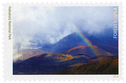 2016 First-Class Forever Stamp - National Parks Centennial: Haleakala National Park
