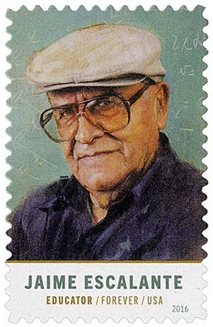 2016 First-Class Forever Stamp - Jaime Escalante