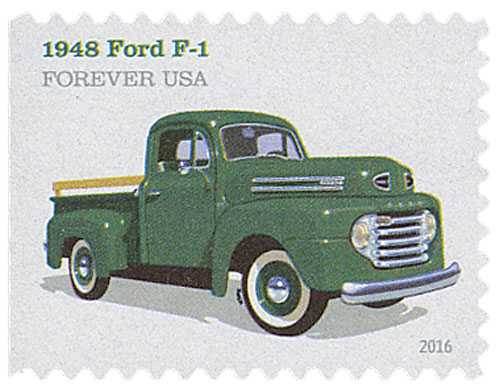 2016 First-Class Forever Stamp - Pickup Trucks: 1948 Ford F-1