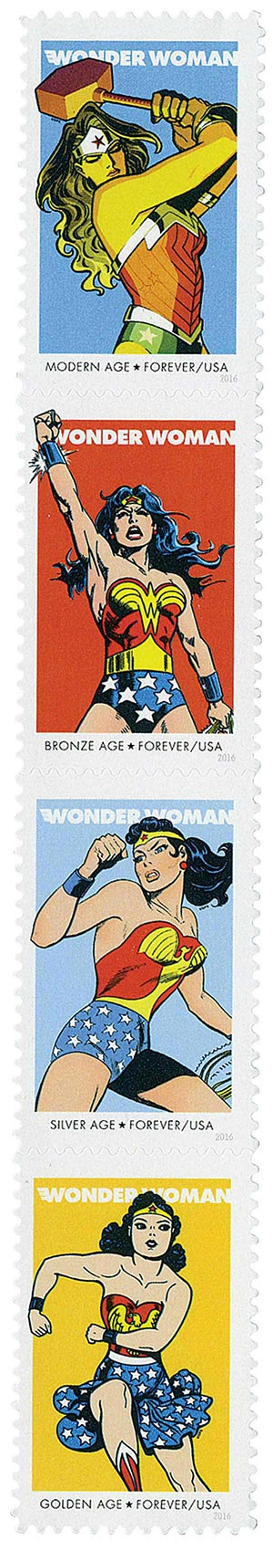 2016 First-Class Forever Stamp - Wonder Woman