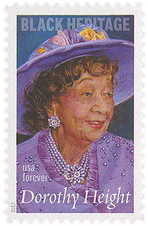 2017 First-Class Forever Stamp - Black Heritage: Dorothy Height