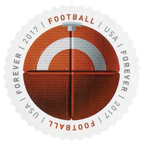 2017 First-Class Forever Stamp - Have a Ball!: Football