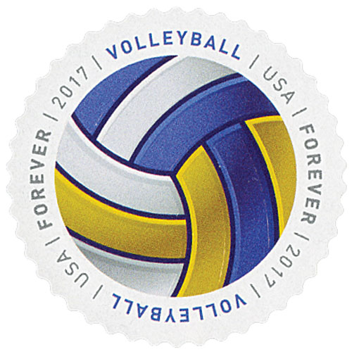 2017 First-Class Forever Stamp - Have a Ball!: Volleyball