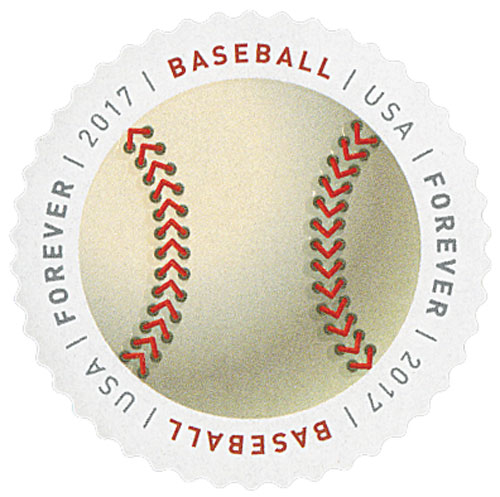 2017 First-Class Forever Stamp - Have a Ball!: Baseball