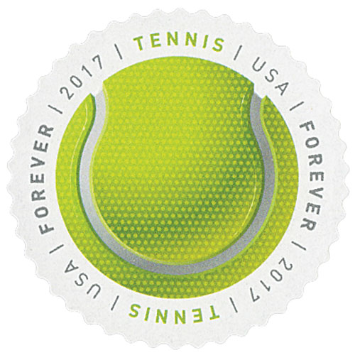 2017 First-Class Forever Stamp - Have a Ball!: Tennis Ball