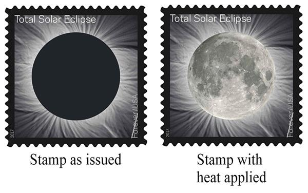 2017 First-Class Forever Stamp - Total Solar Eclipse