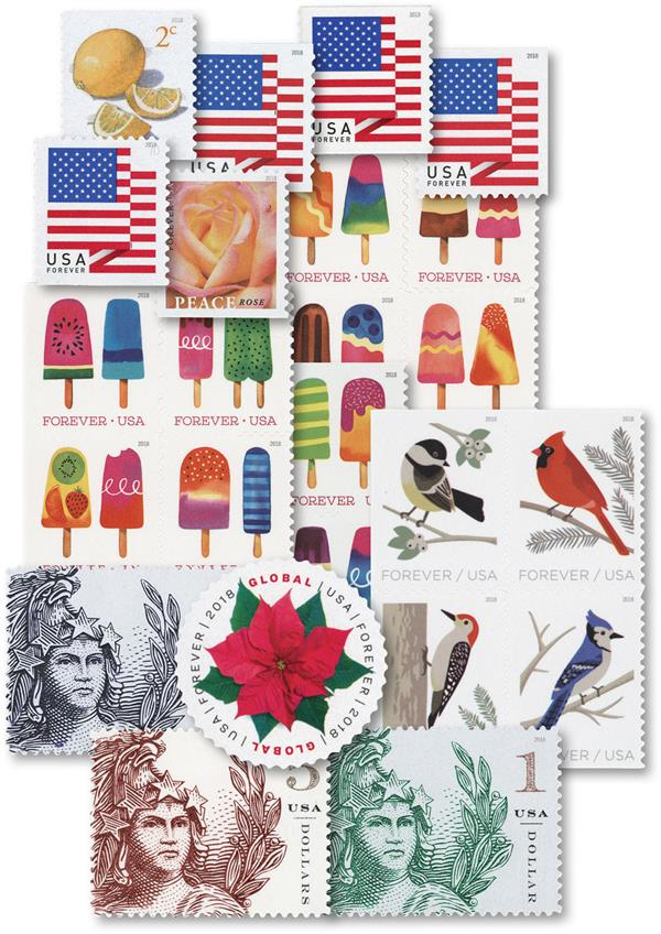 2018 Regular Issues, collection of 24 stamps