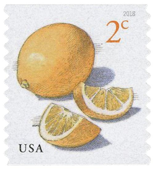 2018 2¢ Meyer Lemons, coil