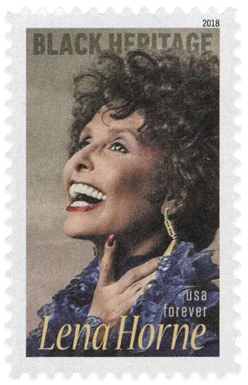 2018 First-Class Forever Stamp - Black Heritage: Lena Horne