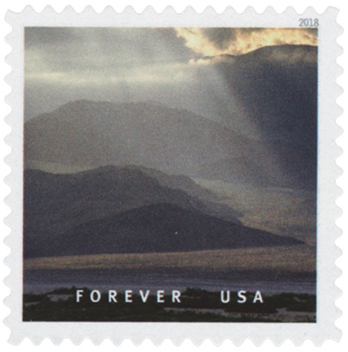 2018 First-Class Forever Stamp - Death Valley National Park, California and Nevada