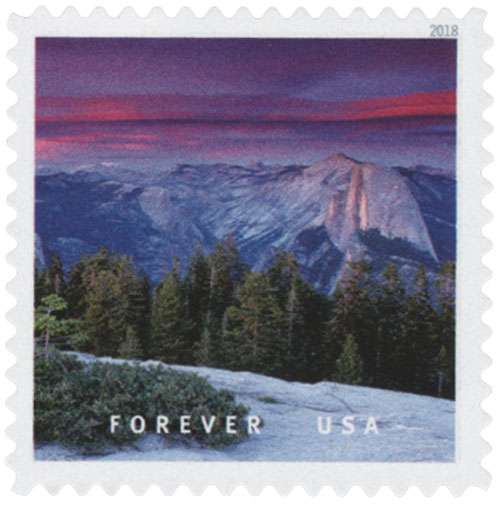 2018 First-Class Forever Stamp - Yosemite National Park, California