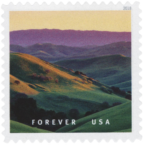 2018 First-Class Forever Stamp - Livermore, California